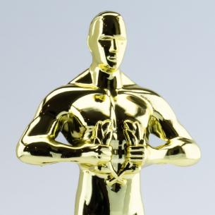 Trophée Statuette Vainqueur à personnaliser