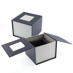 Boite cadeau cube pan coupé 8 cm