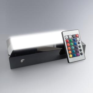Socle lumineux intéractif avec télécommande pour changement de couleur