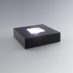 base lumineuse carré pour bloc verre
