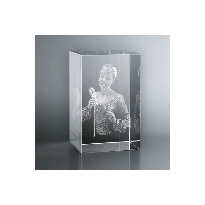 Bloc Vertical 3D Chanteuse