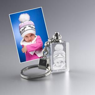 porte-cle rectangle personnalisé photo
