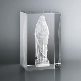 Bloc Vertical 3D Vierge à l'Enfant