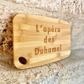 planche à découper en bambou - idéal apéro