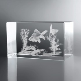 Bloc Horizontal 3D Aquarium Japonais