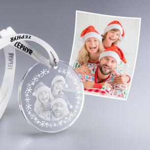 Décoration de Noël personnalisé avec votre photo