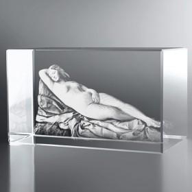 Bloc Horizontal 3D La Vénus Endormie, Giorgione