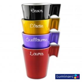 Set de tasses personnalisées Luminarc