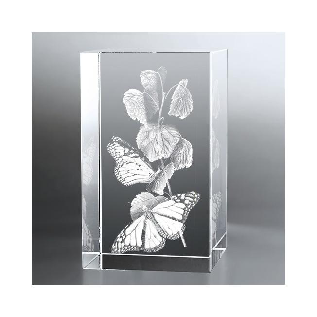 Bloc Vertical 3D Papillon
