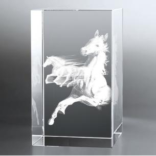 Bloc Vertical 3D Pur Sang pour  Offrez à vos proches passionnés par...