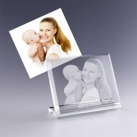 plaque photo chevalet gravée avec votre photo