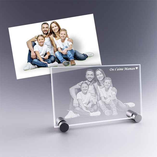 plaque photo - idéal cadeau famille