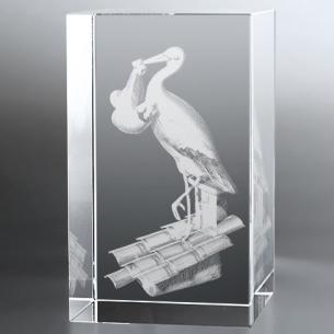 Bloc Vertical 3D Cigogne