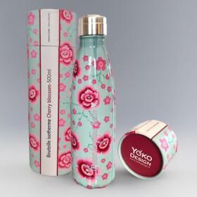 Bouteille Isotherme Cherry blossom Personnalisable