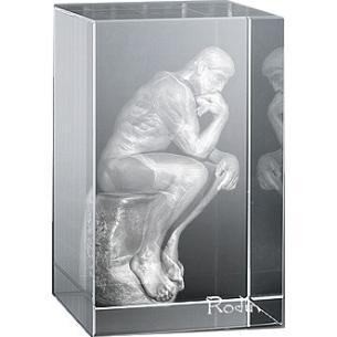 Bloc Vertical 3D Penseur de Rodin pour  A tous les amoureux des Art...