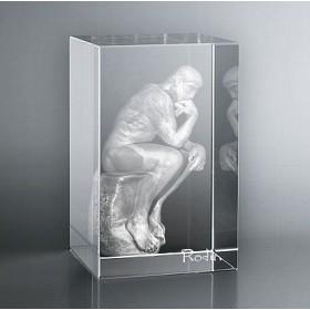 Bloc Vertical 3D Penseur de Rodin
