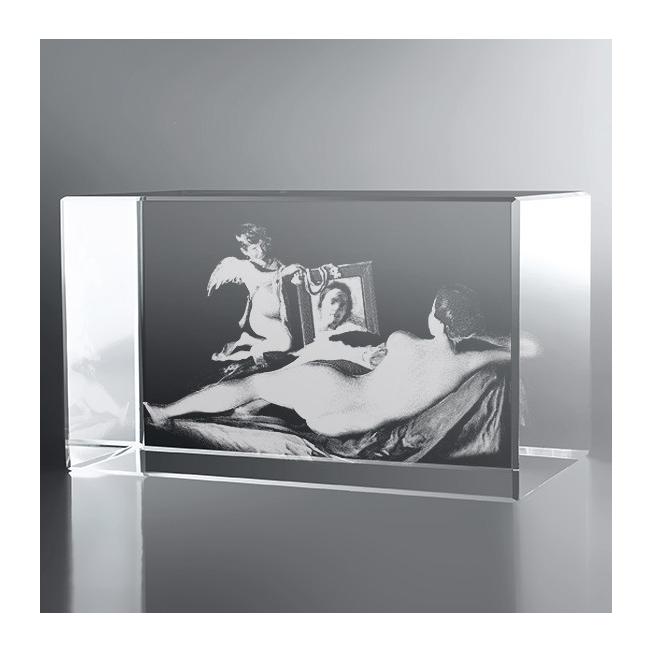 Bloc Horizontal 3D Vénus au Miroir, Vélasquez, A tous les amoureux ...
