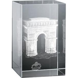 Bloc Vertical 3D Arc de Triomphe pour  Cadeau précieux et moderne,...
