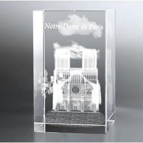 Bloc Vertical 3D Notre Dame de Paris