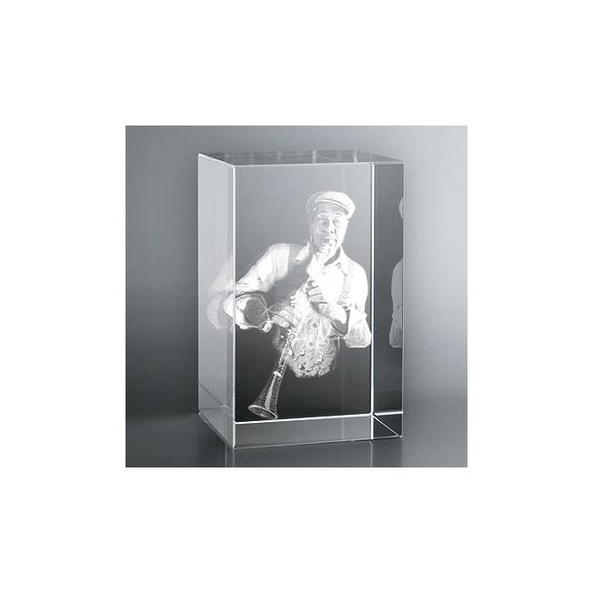 Bloc Vertical 3D Clarinettiste, Le cadeau idéal pour un amateur de ...