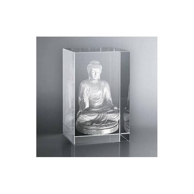 Bloc Vertical 3D Bouddha
