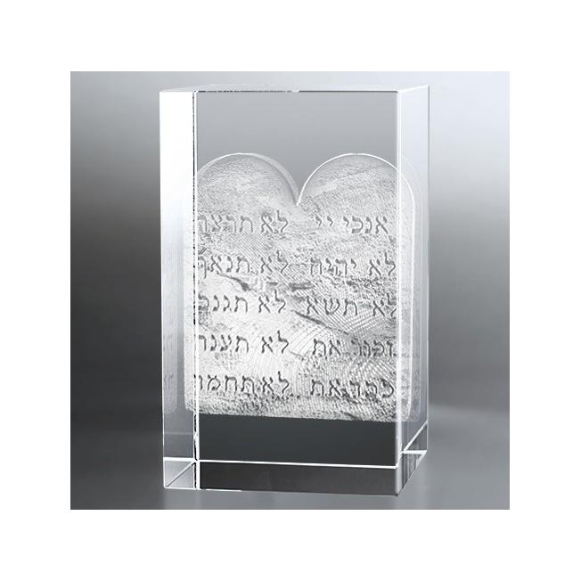 Bloc Vertical 3D Table de la Loi