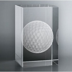Bloc Vertical 3D Balle de Golf