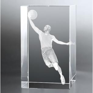 Bloc Vertical 3D Basketteur