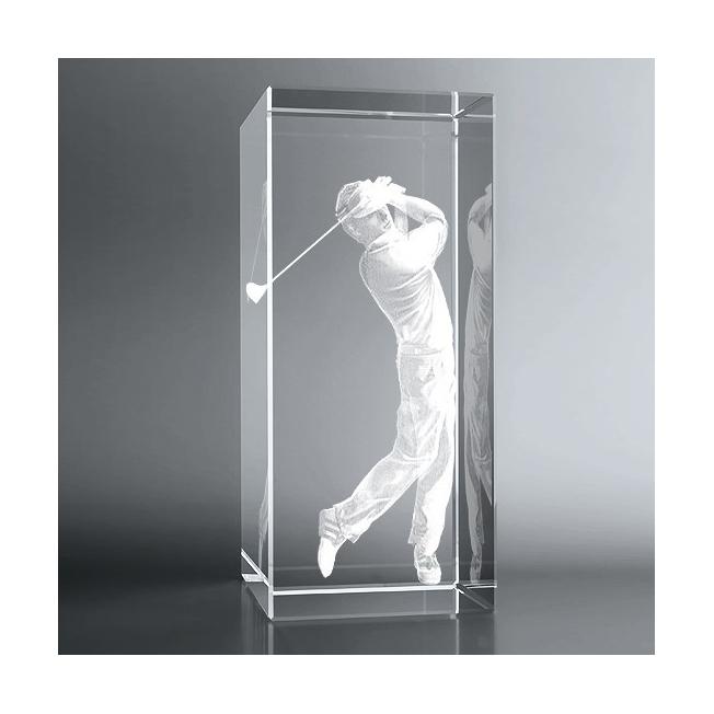 Bloc Vertical 3D Golfeur