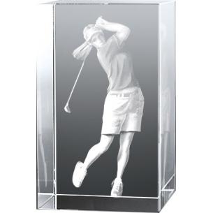 Bloc Vertical 3D Golfeuse pour  Ça swing sur le green ! Pour un cad...