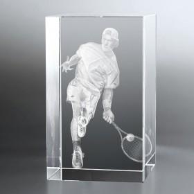 Bloc Vertical 3D Tennisman