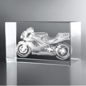 Bloc Horizontal 3D Moto Honda
