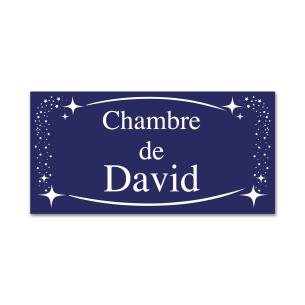 Plaque de Chambre Bleue pour  Cadeau décoratif personnalisable, cet...