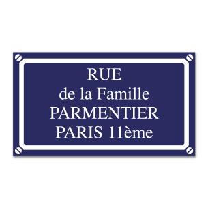 Plaque de Rue (Grande) pour  Pour créer une ambiance conviviale ou ...