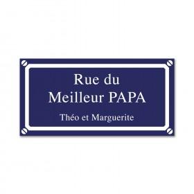 Plaque de Rue (Moyenne)