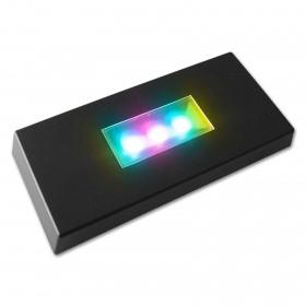 support lumineux pour bloc en verre photo