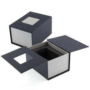 boite Cadeau Bougeoir en verre 3D