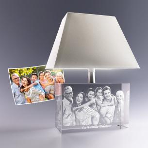 Lampe personnalisée photo 3D