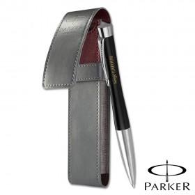Coffret Cadeau Stylo Noir et Pochette Parker