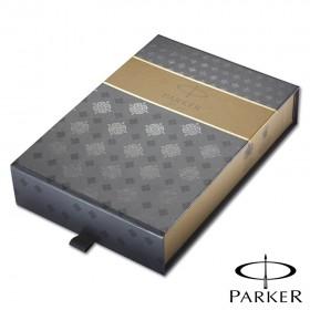 Coffret Cadeau Parker Stylo Noir et Pochette