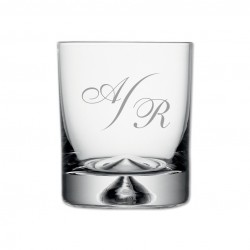"Verre à Whisky, Collection ""Monogramme"""