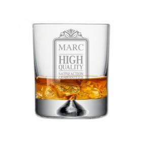"""Verre à Whisky, Collection """"Anniversaire"""" avec votre prénom"""