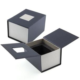 Coffret cadeau -Bloc verre photo 3D 9cm