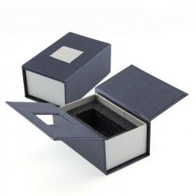 Emballage cadeau bloc verre photo 3D