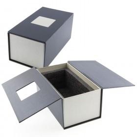 Boite cadeau Bloc verre photo 3D