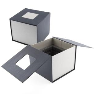 Coffret cadeau cube photo 3D 10 cm