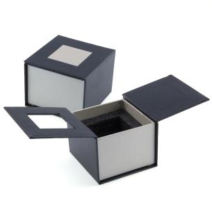 Emballage cadeau cube pan coupé 5 cm - gravure photo 3D