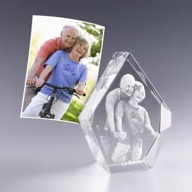 Bloc prestige avec votre photo en 3D