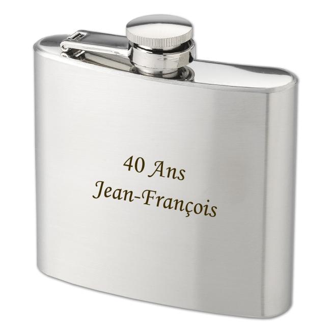 Flasque à Whisky Personnalisée pour  Le cadeau idéal pour tous les ...