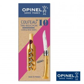 Emballage Couteau Tire-Bouchon Opinel N°10 Inox